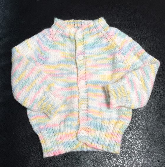 Confetti Baby Sweater | Knitting, Weaving, Writing